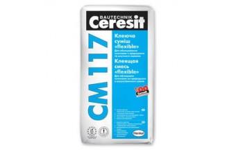Смесь сухая строительная клеевая Ceresit CM 117