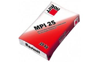 Штукатурка Baumit MPI 25, специфика и техника нанесения