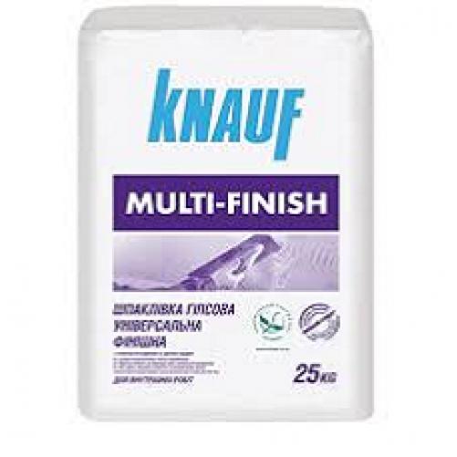 Шпаклевка Knauf мульти финиш универсальная, 25 кг
