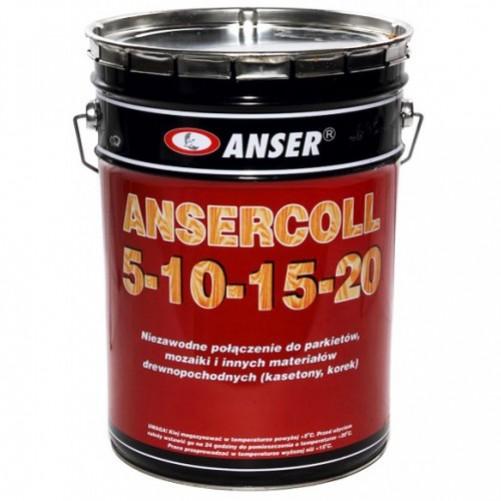 Клей для паркета Ansercoll 5-10-15-20, 23 кг