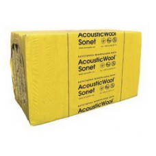 AcousticWool Sonet профессиональная акустическая минеральная вата 1000х600х50мм, в уп.10шт/6.0м.кв