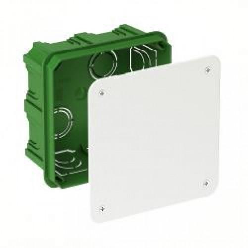 Коробка распределительная 100Х100Х50 для сплошных стен, IMT35122, Schneider Electric