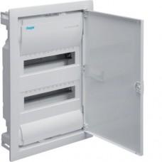 Щит на 24(28) модуля внутренней установки с металлической дверью HAGER VOLTA VU24UA