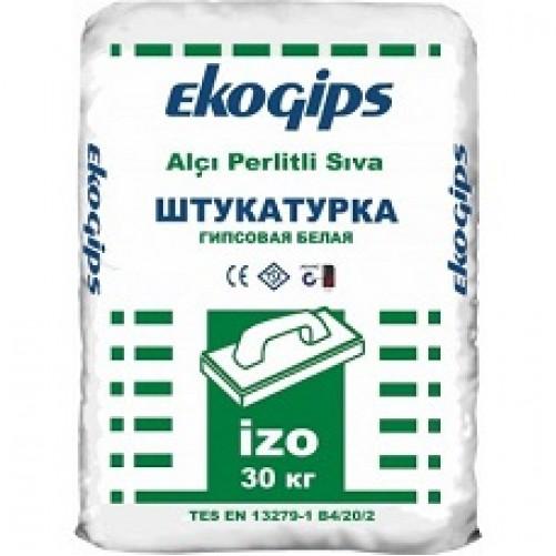 Экогипс штукатурка гипсовая стартовая, 30кг