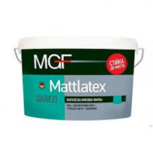Интерьерная латексная краска матовая MGF М100 7 кг