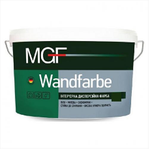 Интерьерная акриловая краска матовая MGF Wandfarbe М1а 7 кг