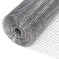 Сетка штукатурная оцинкованная12,5*12,5 мм, размер 1*30 м, проволока 0,7 мм