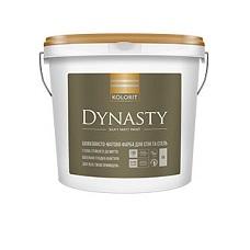 Интерьерная акриловая краска матовая Kolorit Dynasty, 4,5 л