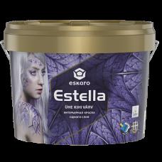 Краска акриловая Eskaro Estella матовая 9 л
