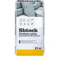 Клеевая смесь для ячеистого бетона Shtock, 25 кг