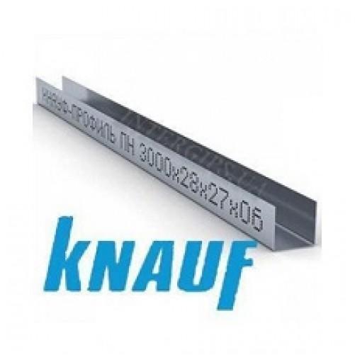 Профиль UD 27, 3 м Кнауф (0,6 мм)