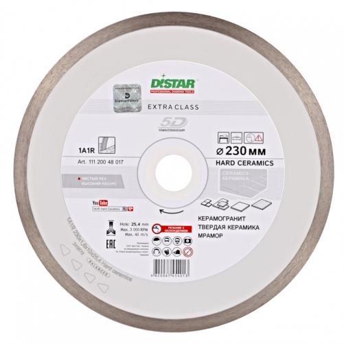 Алмазный отрезной DISTAR, Hard ceramics 1A1R, 125x1,4/1,0x10x22,23 мм