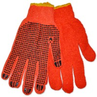 Перчатки трикотажные ХБ з ПВХ