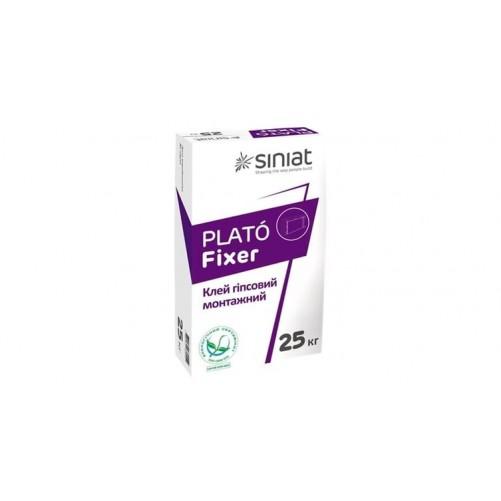 Гипсовая клеевая смесь PLATÓ Fixer, 25 kg