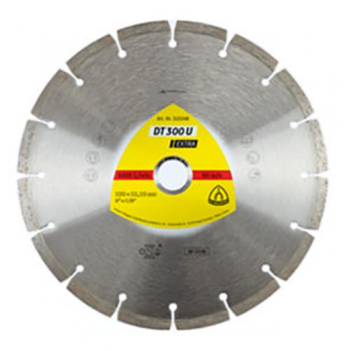 Алмазный отрезной круг Klingspor, сегмент DT 300 U, 230х2.3х22,23 мм