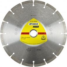 Алмазный отрезной круг Klingspor, сегмент DT 300 U, 125х1,6х22,23 мм
