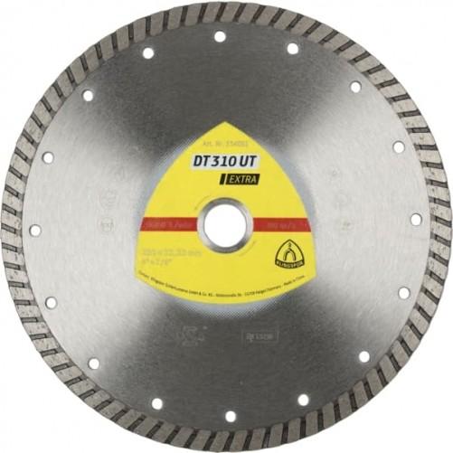 Алмазный отрезной круг Klingspor, сегмент DT 310 UТ, 125х2,0х22,23 мм