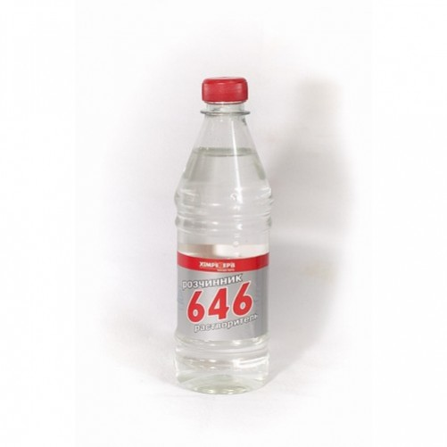 Растворитель 646 Химрезерв 0,8 л