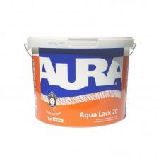 Интерьерный акриловый лак Aura Aqua Lack 20, 10 л