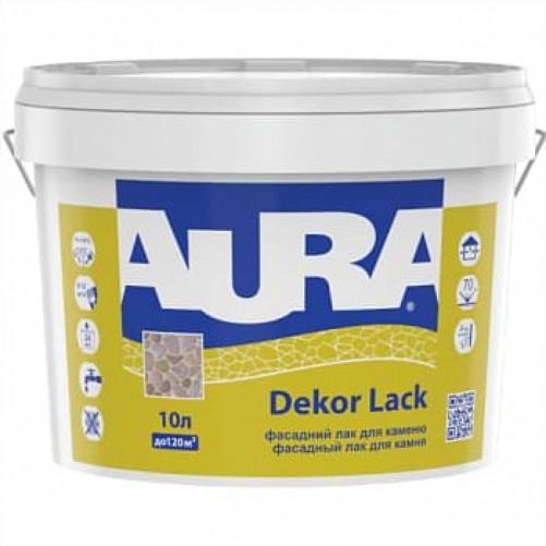 Акриловый фасадный лак для камня AURA Dekor Lack, 10 л