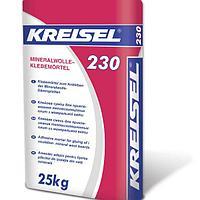 Kreisel 230 Mineralwolle-Klebemörtel Смесь для приклеивания минваты, 25кг