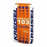 Kreisel 103 Super Multi клей для плитки усиленный, 25 кг