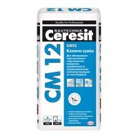Ceresit СМ-12 Gres клей для плитки и керамогранита, 25кг