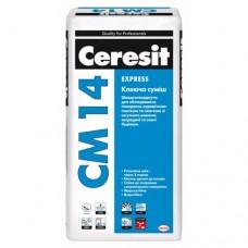 Ceresit СМ 14 клей для плитки быстротвердеющий, 25кг