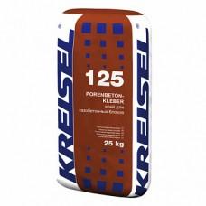 Kreisel 125 Porenbetonkleber смесь для кладки ячеистого бетона, 25кг