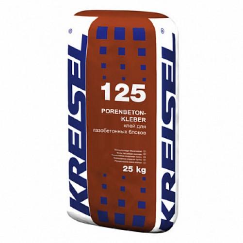 125 Смесь для кладки ячеистого бетона, 25кг