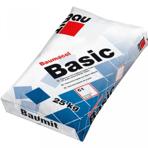 Baumacol Basic Клей для плитки, 25кг