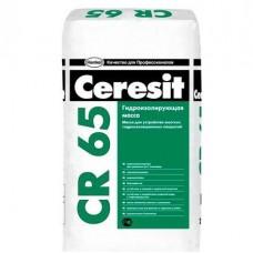 Ceresit CR 65 Гидроизоляционная смесь, 25кг