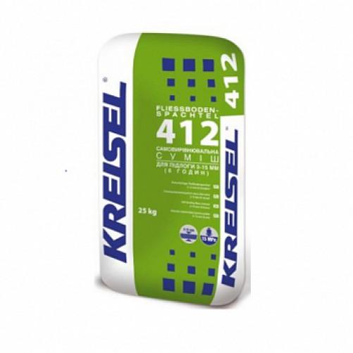 Kreisel 412 Смесь для пола самовыравнивающаяся 3-15 мм 25кг (пал. 42шт)