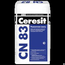 Ceresit CN 83 Быстротвердеющая смесь, 25кг