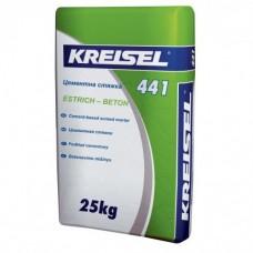 Kreisel 441 Zement-Estrich Стяжка цементная 25-60мм, 25кг