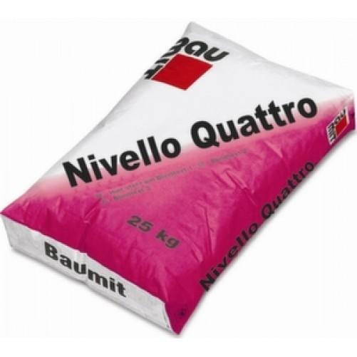 Nivello Quattro Смесь самовыравнивающаяся 1-20мм, 25кг