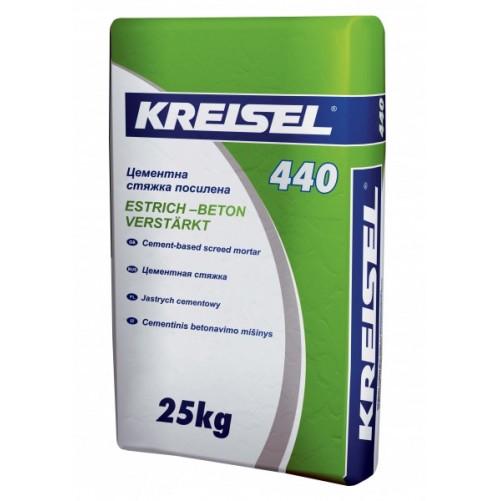 Kreisel 440 Стяжка цементная 25-45мм, 25кг