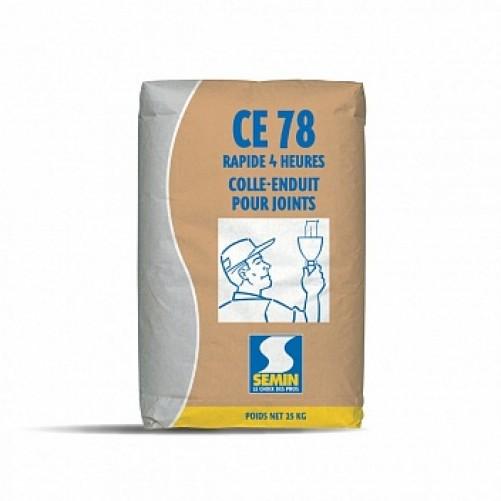 Шаклевка Semin CE-78 для заделки стыков гкл, 25кг