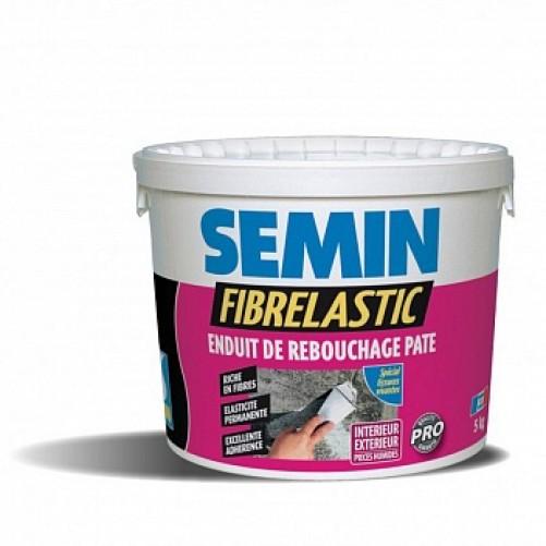 Шпаклевка эластичная Semin Fibrelastic, 5кг