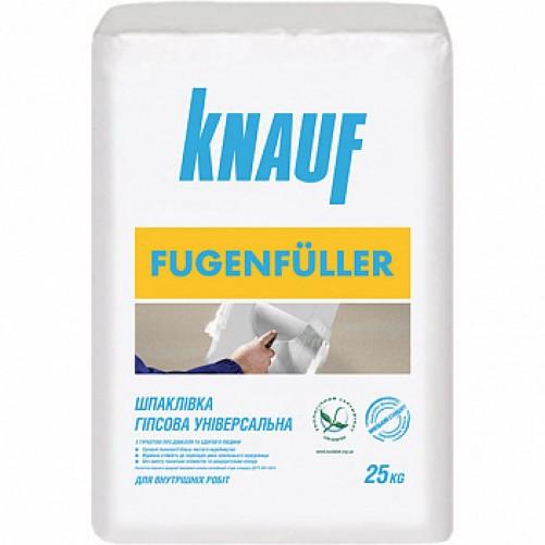 Шпаклевка гипсовая Knauf Фугенфюлер для швов, 25 кг