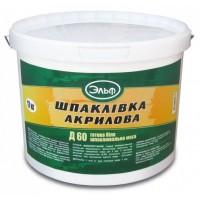 Шпаклевка Эльф Д 60 акриловая, 27 кг