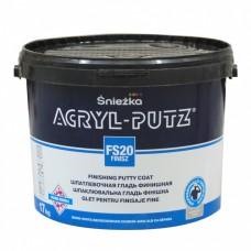 Sniezka Acryl Putz Finisz готовая финишная шпаклевка, 17кг