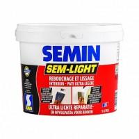 Шпаклевка Semin Sem Light для трещин универсальная, 5л