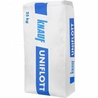 Шпаклевка гипсовая Knauf Унифлот высокопрочная для швов, 25 кг