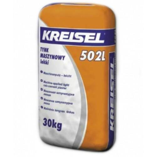 Kreisel 502L Штукатурка известково-цементная машинная легкая 30кг (пал. 30шт)