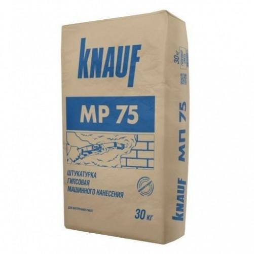 Knauf Штукатурка гипсовая для машинного нанесения МП-75