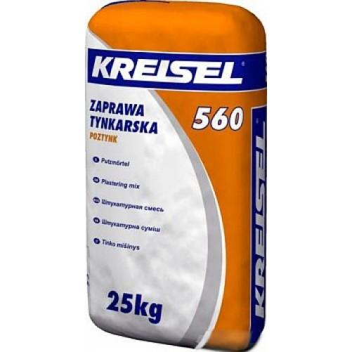 Kreisel 560 Штукатурная смесь 25кг (пал. 42шт)